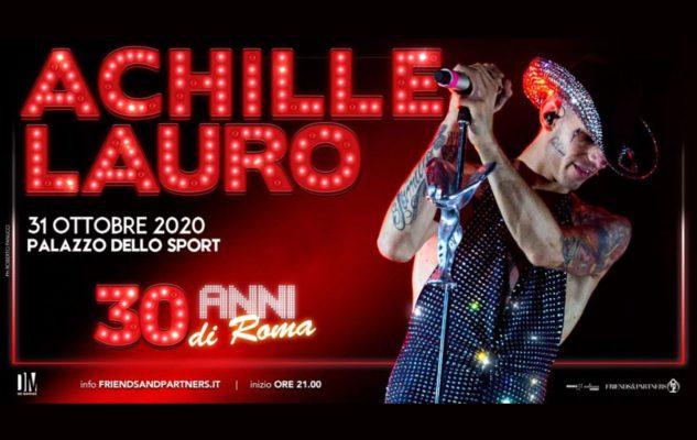 Achille Lauro a Roma nel 2020: data e biglietti del concerto