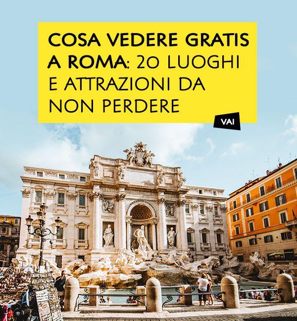 Cosa vedere Gratis a Roma