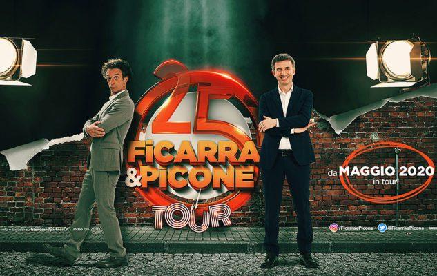 Ficarra e Picone a Roma nel 2020: date e biglietto dello spettacolo