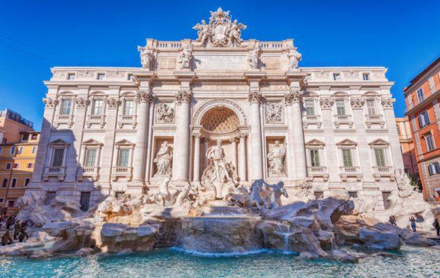 Le 5 fontane più belle di Roma