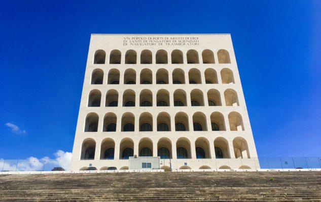 Il Colosseo Quadrato di Roma, fantastico esempio dell'architettura razionalista