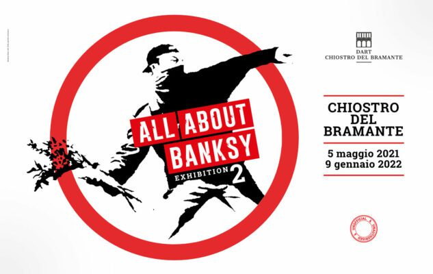 """""""All about Banksy: Exhibition 2"""": la mostra al Chiostro del Bramante"""