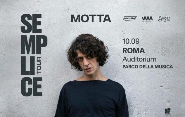 Motta in concerto a Roma nel 2021: data e biglietti