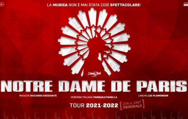 notre dame paris musical roma 2022