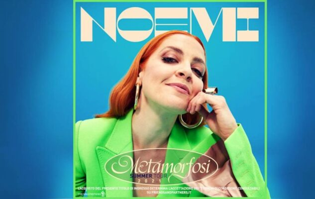 Noemi in concerto a Roma nel 2021: data e biglietti