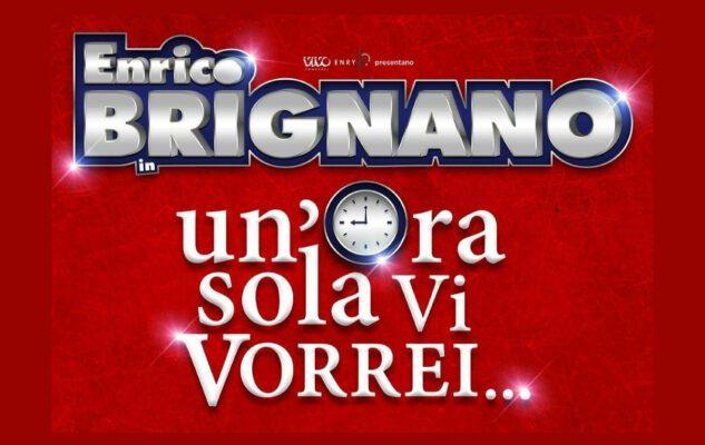 Enrico Brignano a Roma nel 2021: date e biglietti dello spettacolo al Brancaccio